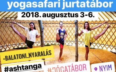 Astanga Jurtatábor + Balatoni nyaralás