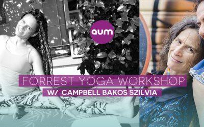 Forrest Yoga workshops in Budapest
