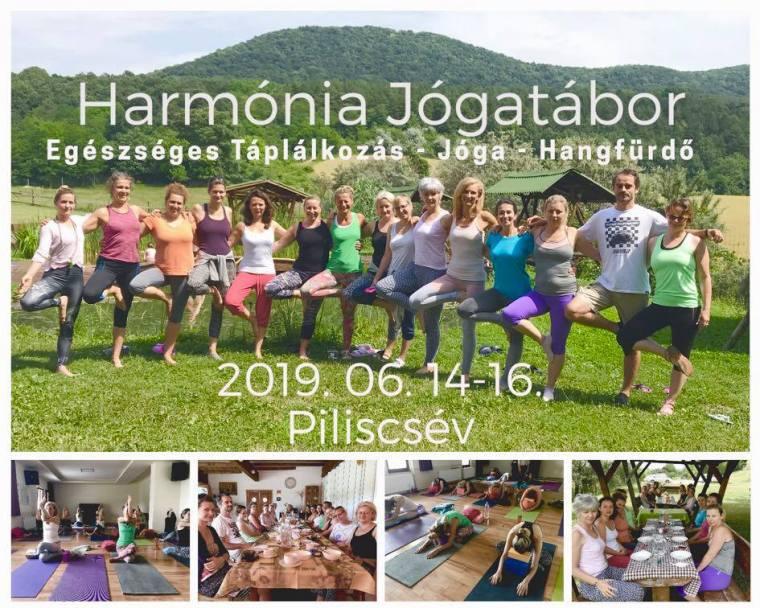 Harmónia jóga tábor 2019