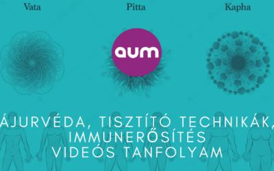 Ájurvéda, tisztító technikák, immunerősítés videós tanfolyam