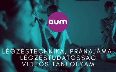 Légzéstechnika, pránajáma, légzéstudatosság videós tanfolyam